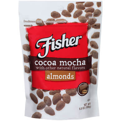 Cocoa Mocha Almonds