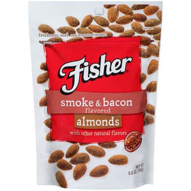 Smoked Bacon Almonds
