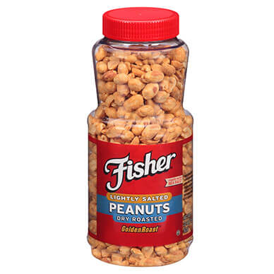 Dry Roasted Peanuts, Lightly Salted