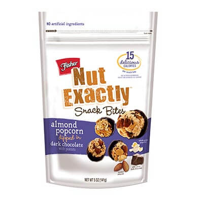 Nut Exactly Almond Popcorn Dipped In Dark Chocolate