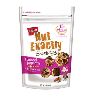 Nut Exactly Almond Popcorn Dipped In Milk Chocolate